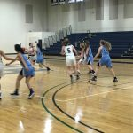 Girls Junior Varsity Basketball falls to Wilson Hall 40 – 20