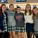 Girls' Bowling Teams take 1st and 2nd