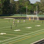 Varsity Men's Soccer beats Eau Claire, 12-0