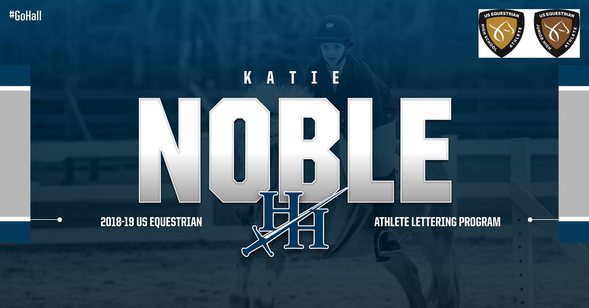 Noble Earns US Equestrian Letter