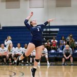 Varsity Volleyball beats Trinity-Byrnes Collegiate School, 3-0
