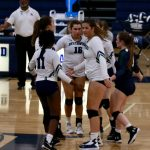 Varsity Volleyball falls to Northside Christian Academy 3 – 0