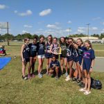 Girls Cross Country finishes 2nd place at Pee Dee Invitational Classic(Florence, SC)