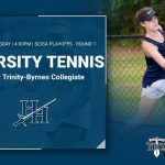Varsity Tennis Falls in the Playoffs to Trinity-Byrnes