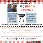 BBQ Fundraiser for Jake's Dock at Camp Cole