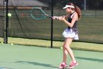 Girls Junior Varsity Tennis beats Cardinal Newman School 6 – 3