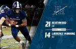 Varsity Football beats Laurence Manning Academy 21 – 14