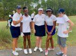 Girls Varsity Golf finishes 2nd place at Match v Hammond School/Northside Christian