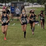 Girls Varsity Cross Country finishes 3rd place at Patriot Invitational
