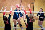 Varsity Volleyball falls to Cardinal Newman, 3-0