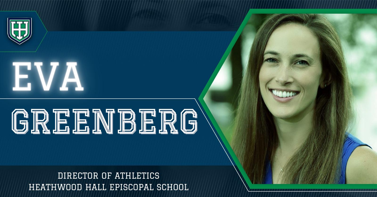 Heathwood Hall Welcomes New Director of Athletics Eva Greenberg