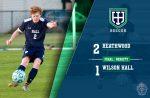 Boys Varsity Soccer beats Wilson Hall, 2 – 1
