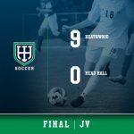 Boys JV Soccer beats Mead Hall, 9 – 0