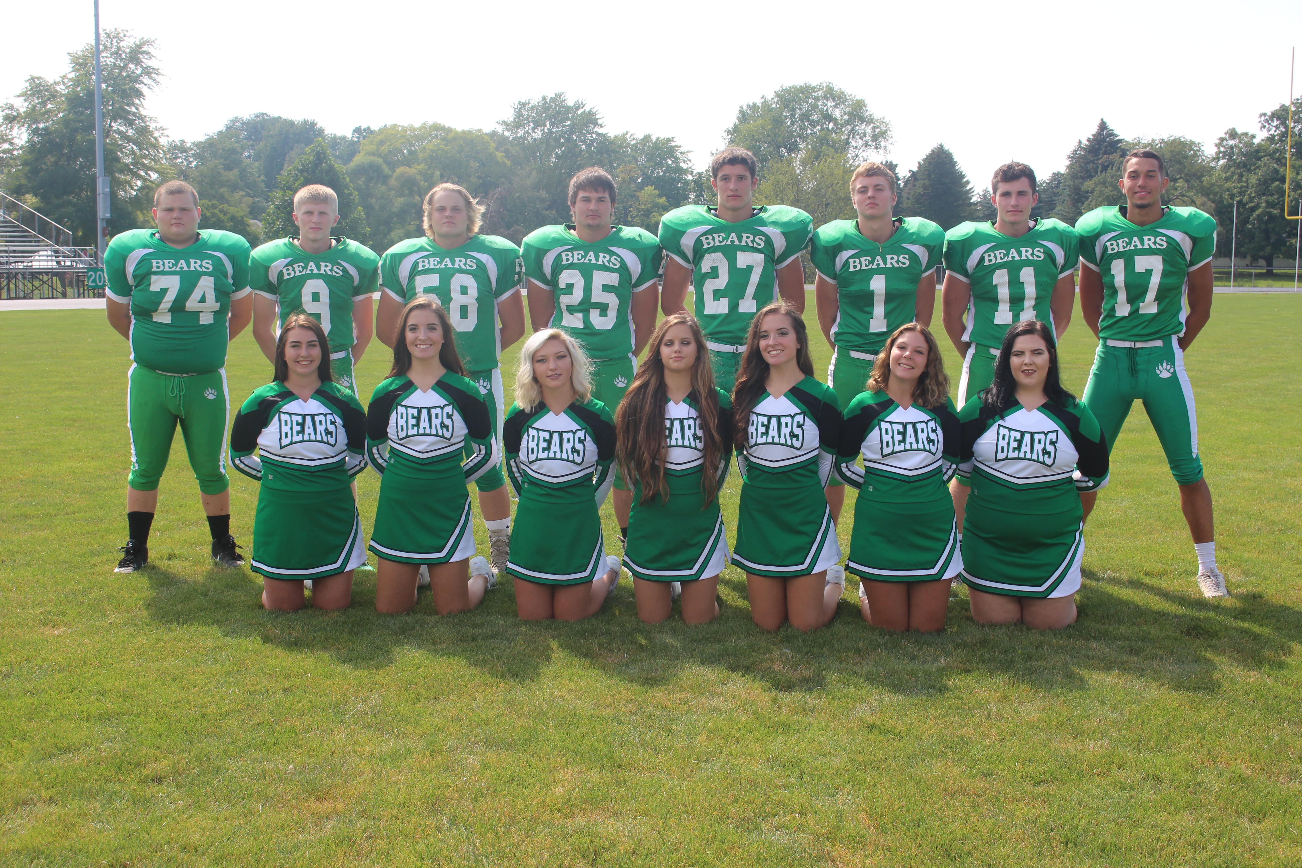 Senior Football and Cheer