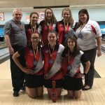 Girls Varsity Bowling 1st place at OHSAA Kickoff Tournament