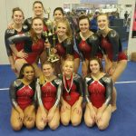 Troy Gymnastics Team Finished 3rd at Troy-Mont Invitational