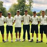 Boys Varsity Golf finished 4th, qualifying for Districts