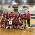 8th Grade Volleyball Wins GWOC tournament