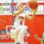 Trojans hold off Bees, 47-43 – Troy Daily News