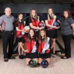 Varsity Girls' Bowling Advances to the District Tournament