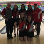 Girls' Bowling Qualifies for State Championship Tournament