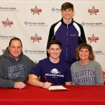 Henderson Sign with Bluffton University