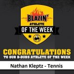Buffalo Wild Wings Blazin' Athlete of the Week
