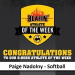 Buffalo Wild Wings Blazin Athlete of the Week