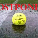 Softball Tournament Game Postponed Today