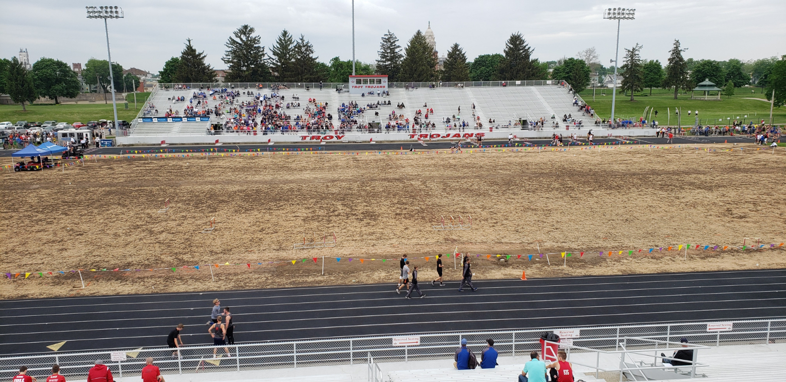 Summer Projects at Troy Memorial Stadium