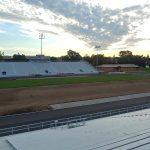 New Sod at Troy's Memorial Stadium