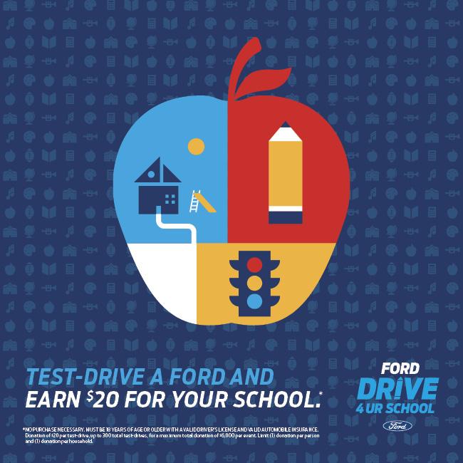 Ford Drive 4 UR School