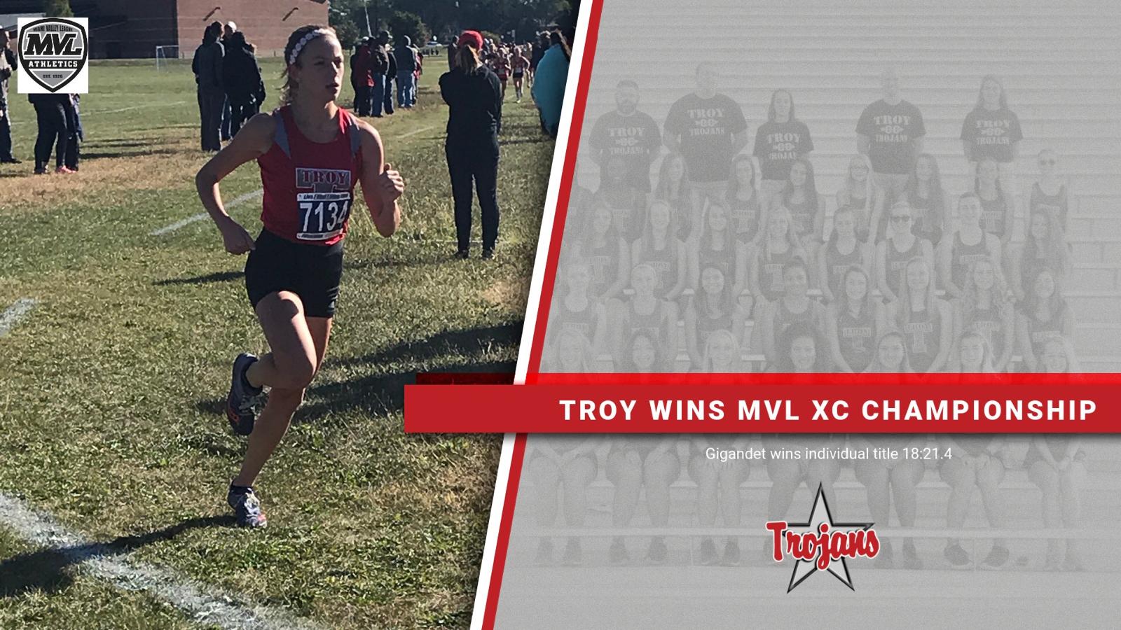 Trojans win MVL XC Title
