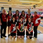 Girls Bowling 2nd at Holiday Baker Tournament