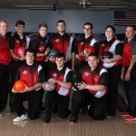 Boys Bowling Advanced to the District Tournament Placing Seventh Overall.