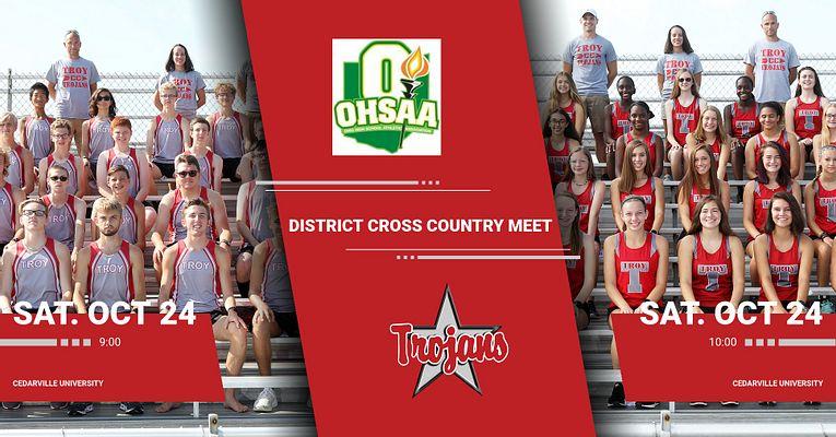 Boys & Girls Cross Country District Championship Meet