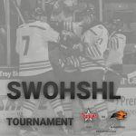 Ice Hockey Competes at SWOHSHL Tournament Today