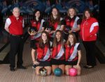 Girls Bowling 2nd Place at Sectional Tournament
