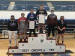 Cheyenne Meade 4th Place at OHSWCA Girls Wrestling State Tournament