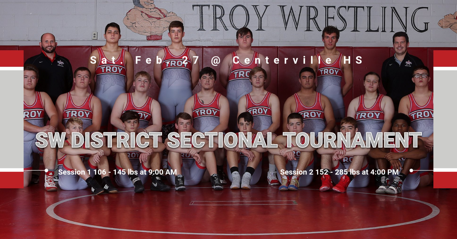 Wrestling at Sectional Tournament