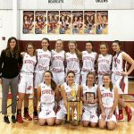 Girls Junior Varsity Basketball beats Hanover Central Tournement 37 – 25