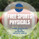 Free Sports Physicals – August 10th | Exámenes físicos gratuitos – 10 de agosto