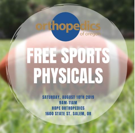 Free Sports Physicals – August 10th | Exámenes físicos gratuitos – 10 de agosto