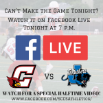 SCCS Football Game on Facebook Live Tonight