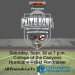 Faith Bowl 2017 Preview