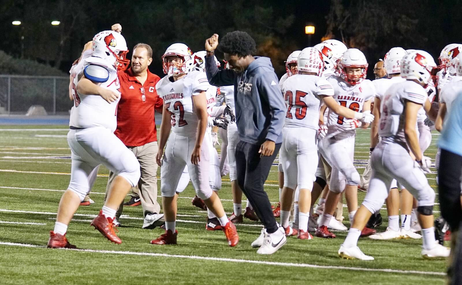 SCCS Football Hands Warriors First League Loss Since 2009 and Stay Undefeated