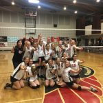Two Jr. High Girls Volleyball Teams, Two Championships