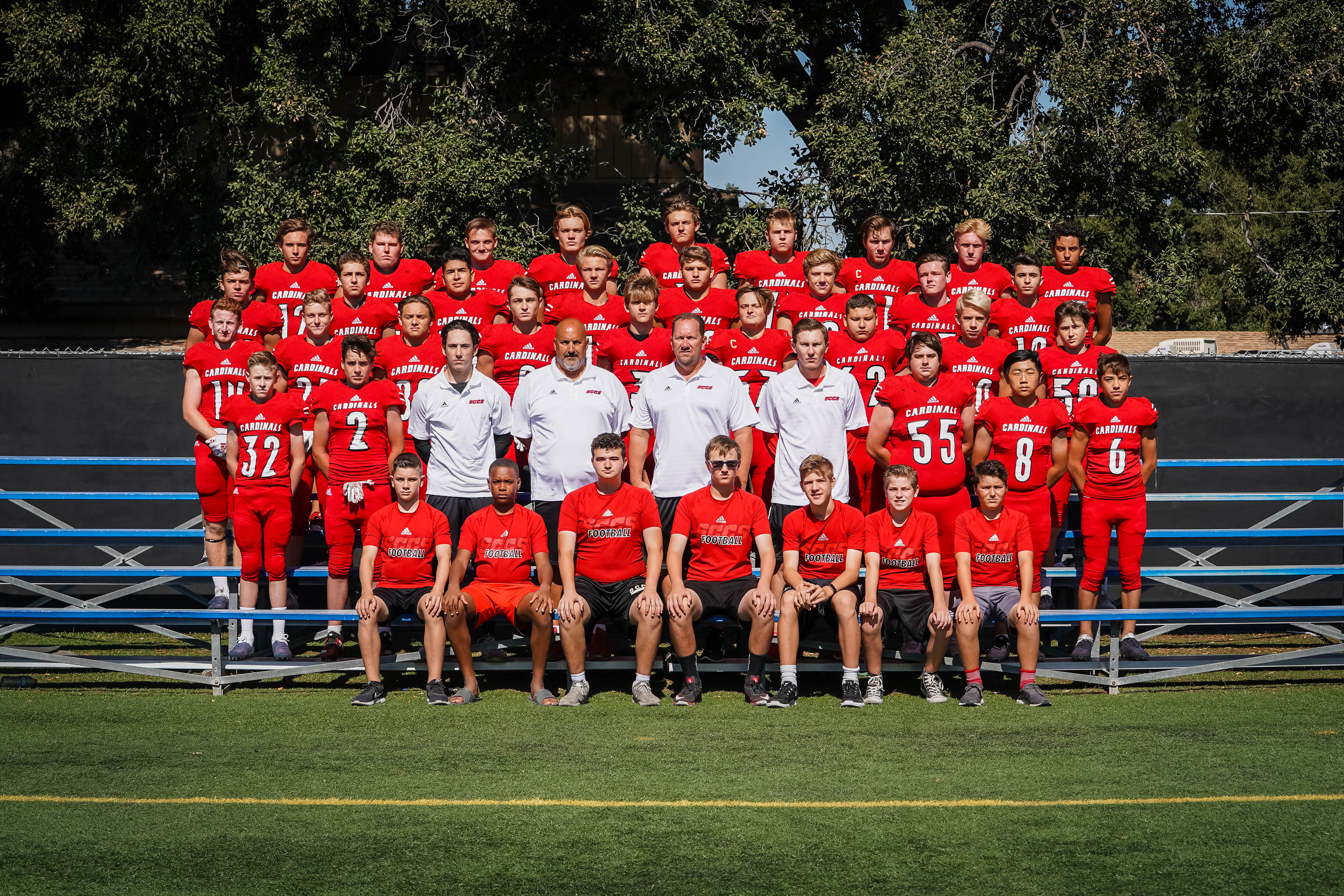 SCCS Football Earns First Victory of Season