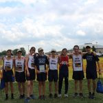 Boys Varsity Cross Country finishes 1st place at Walsh Jesuit High School