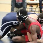 Wrestling vs. Harvey and Maple Hts.